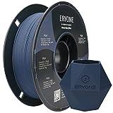 ERYONE Matte PLA Filament 1.75mm, 3D Drucker Filament PLA 1 kg 1 Spool, +/-0.03mm,Marine blau