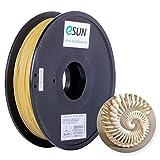 eSUN Wasserlöslich PVA Filament 1.75mm, PVA 3D Drucker Filament, Maßgenauigkeit +/- 0.05mm, 0.5KG (1.1 LBS) Spule für 3D Drucker in Vakuumverpackung, Natürlich