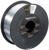 Amazon Basics 3D-Drucker-Filament aus PETG-Kunststoff, 1,75 mm, durchscheinend, 1-kg-Spule