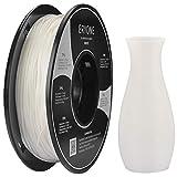 Filament TPU 1.75mm, Eryone TPU Filament 1.75mm, 3D Drucken Filament TPU for 3D Drucker, 0.5kg 1 Spool, Weiß