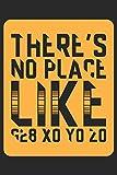 There's no Place like G28 X0 Y0 Z0: Notizbuch, Skizzenbuch, Planer oder Konstruktionsbuch in 6x9 Zoll (ca A5) | perfekt für alle G-Code-Fans, ... von Projekten und zum festhalten von Ideen!
