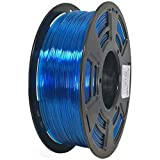 Stronghero3D desktop fdm 3d drucker filament PETG durchsichtig blau 1.75mm 1kg (2.2 lbs) dimension genauigkeit von + / -0.05mm
