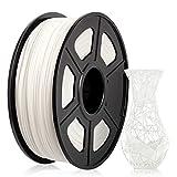 ABS Filament 1,75 mm, ABS 3D Drucker filament, ABS Filament 1KG (2,2 lb) Spool, ABS Weiß