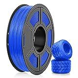 TPU Filament 1.75mm, SUNLU 3D Drucker Filament TPU, Flexibel Filament 1.75, Dimensionale Genauigkeit +/- 0.03mm, 0.5kg Spool, 1.75 TPU Blau