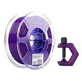 eSUN PETG Filament 1.75mm, PETG 3D Drucker Filament, Maßgenauigkeit +/- 0.05mm, 1KG (2.2 LBS) Spule für 3D Drucker in Vakuumverpackung, Solide Lila