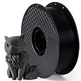 PETG Filament 1,75 mm, AnKun PETG 3D Drucker Filament Schwarz, 3D-Druckmaterialien UV Beständig, 1kg (2,2 lb) 1 Spule, Genauigkeit +/- 0.02mm