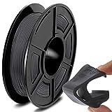 SUNLU TPU Flexible Filament 1.75mm for 3D Printer 500g/Spool Dimensional Accuracy +/-0.03mm, Grey