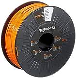 Amazon Basics 3D-Drucker-Filament aus PETG-Kunststoff, 1,75 mm, Orange, 1-kg-Spule