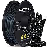 GIANTARM ABS Filament 1.75mm, 3D Drucker filament 1kg Rolle, Schwarz