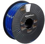 Amazon Basics 3D-Drucker-Filament aus PETG-Kunststoff, 1,75 mm, Blau, 1-kg-Spule
