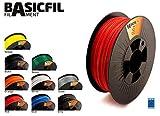 BASICFIL PLA 1.75mm 1 kg, ROT (red), 3D Drucker Filament