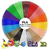 3D Stift Set mit PLA 12 Farben - 3D Stifte Set für Kinder mit PLA Farben 180 Fuß und 250 Schablonen eBook