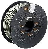 Amazon Basics 3D-Drucker-Filament aus PETG-Kunststoff, 2.85 mm, Grau, 1-kg-Spule
