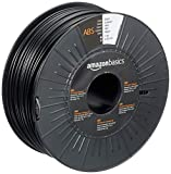 Amazon Basics 3D-Drucker-Filament aus ABS-Kunststoff, 2.85 mm, Schwarz, 1-kg-Spule