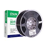 eSUN ABS+ Filament 1.75mm, ABS Plus 3D Drucker Filament, Maßgenauigkeit +/- 0.05mm, 1KG (2.2 LBS) Spule 3D Drucken Materialien für 3D Drucker und 3D Stift in Vakuumverpackung, Schwarz