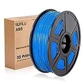 SUNLU 3D Printer Filament ABS, 1.75mm ABS 3D Printer Filament, 3D Printing Filament ABS for 3D Printer, 1kg, Blue