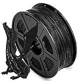ABS Filament 1.75, 3D Drucker Filament für 3D Drucker und 3D-Stifte in Vakuumverpackung, UV Beständig, Kein Geruch/- 0,02mm, für FDM 3D-Drucker, 1 kg Spule