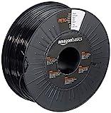 Amazon Basics 3D-Drucker-Filament aus PETG-Kunststoff, 2.85 mm, Schwarz, 1-kg-Spule