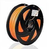 S SIENOC ABS Filament 1,75mm 3D Drucker ABS Filament 3D Drucker Filament Orange 1KG ( ABS Orange )