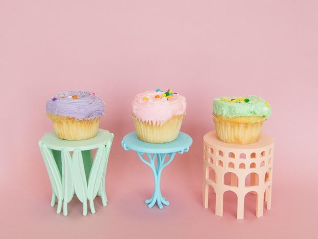 Cupcake Holder von Makerbot (Bildquelle: http://www.thingiverse.com/thing:1062959)