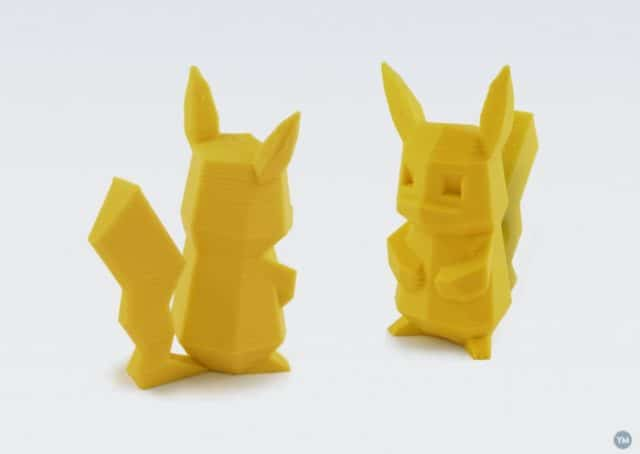 Low-Poly Pikachu von Augustin Flowalistik (https://www.youmagine.com/designs/low-poly-pikachu)