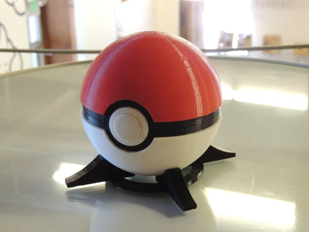 Pokéball von Intentional3D (Bildquelle: https://www.thingiverse.com/thing:84308)