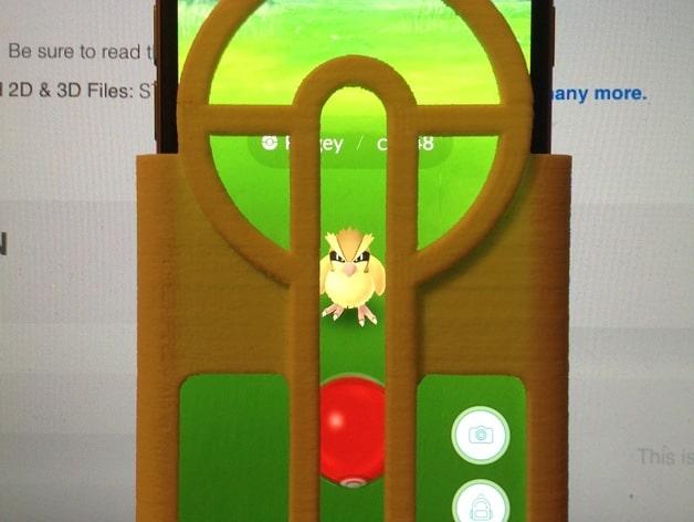 Pokéball Aimer - Pokémon GO von Jcach (Bildquelle: https://www.thingiverse.com/thing:1684613)