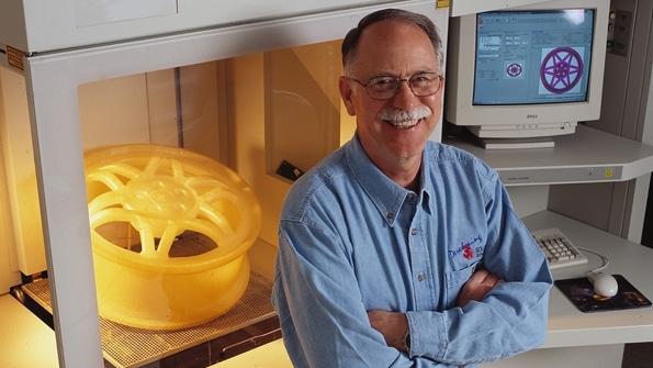 Der Erfinder des 3D-Drucks: Chuck W. Hull