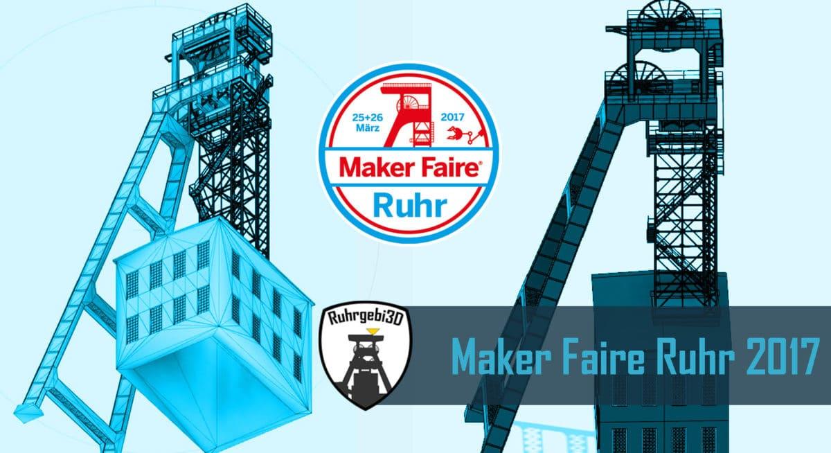 Maker Faire Ruhr 2017 in Dortmund