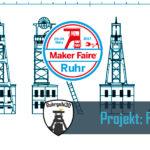 Ruhrgebi3D Projekt 3D gedruckter Förderturm