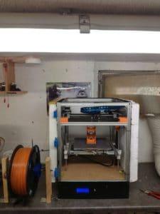 Ruhrgebi3D 3D gedruckter Förderturm