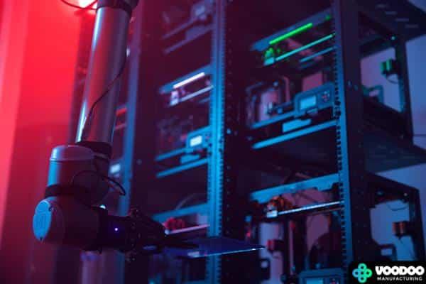 Voodoo Manufacturing - Robotik und 3D Druck