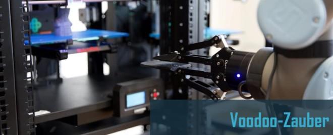 Robotik und 3D-Druck – Voodoo-Zauber