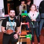 Maker Faire Ruhr 2017 Dortmund Ruhrgebi3D Stärkung für das Team