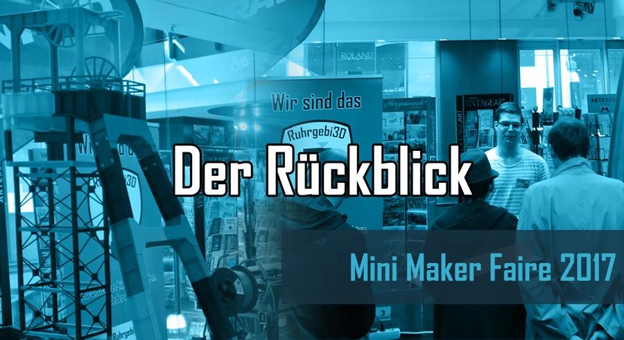 Rückblick zur Mini Maker Faire 2017 in Dortmund