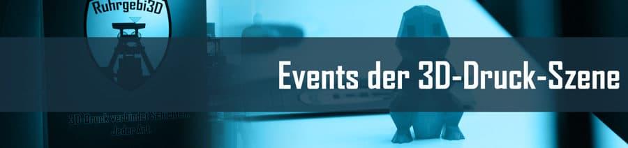 3D Druck Events Veranstaltungen
