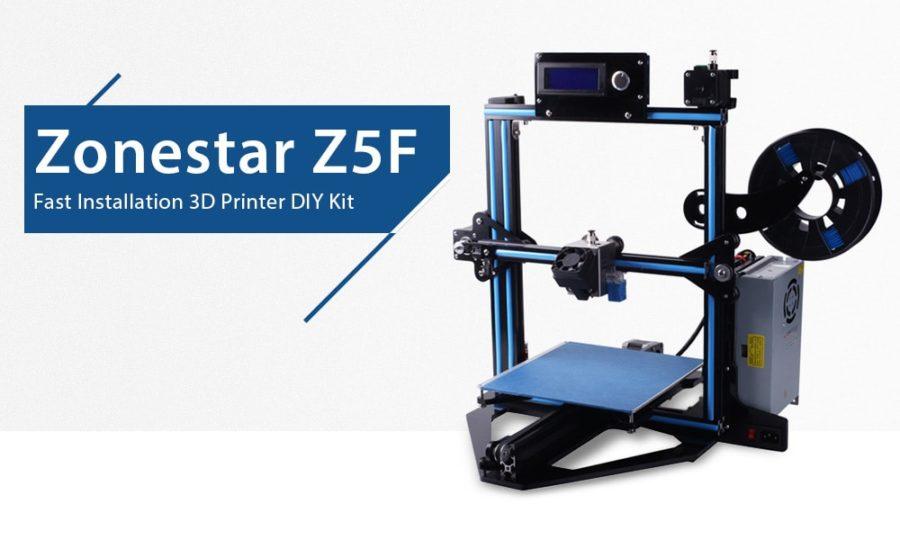 Zonestar Z5F 3D Drucker Bausatz