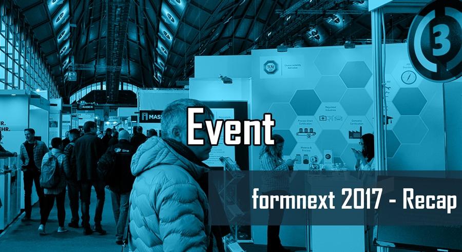 formnext 2017 in Frankfurt