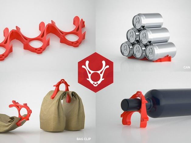 Geschenkidee aus dem 3D Drucker für Weinliebhaber