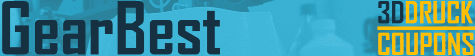 Gearbest 3D Druck Coupons