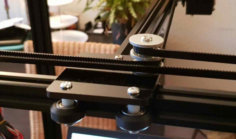 3D Drucker Bausatz Bauteile