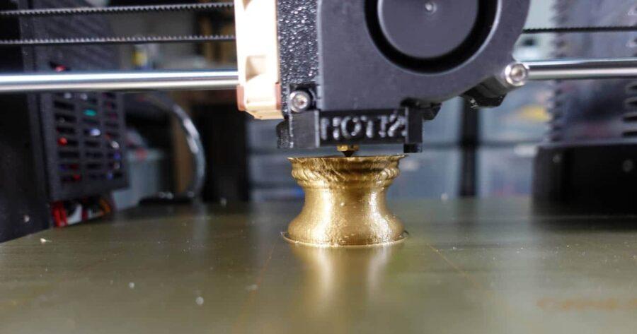 Metallic Look Filament Druck