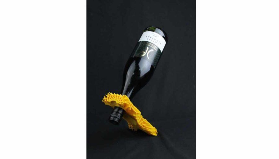 Eleganter Weinflaschenhalter