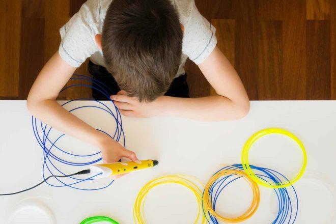 3D Druck Stifte für Kinder