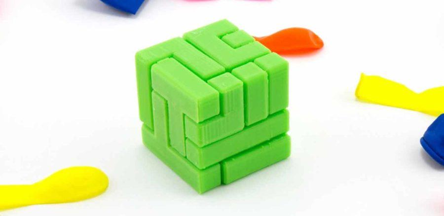 4×4 Puzzle Würfel (Bildquelle: matter/myminifactory)