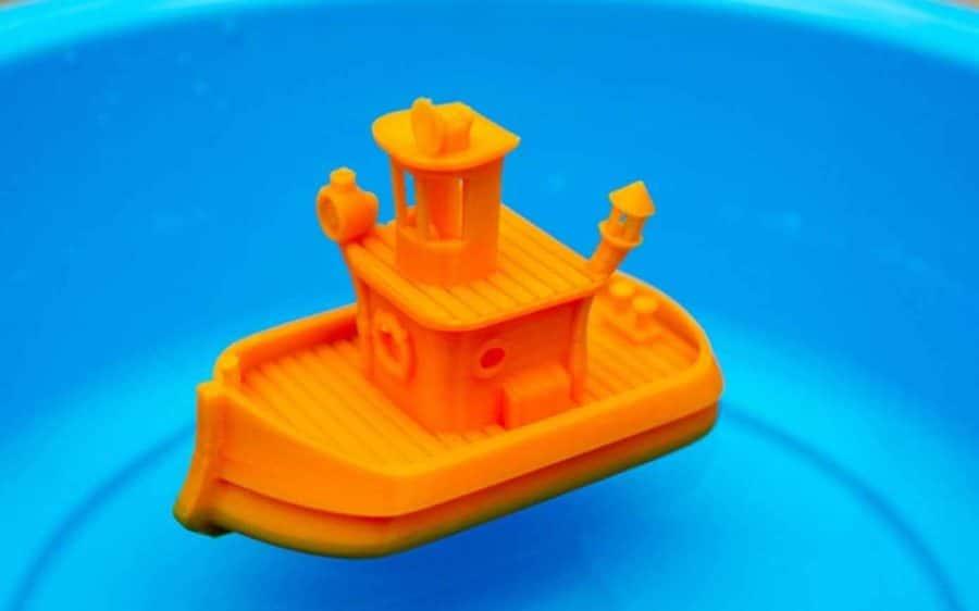 Badewannen-Boot (Bildquelle: vandragon_de/thingiverse)