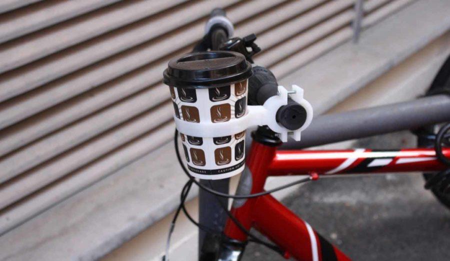 Kaffeebecherhalter für Fahrräder (Bildquelle: jack imakr/myminifactory)