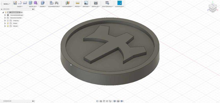 CAD Programm Fusion 360