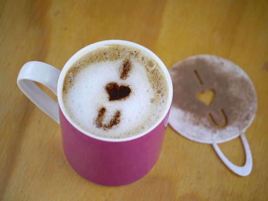 Kaffee Schablone