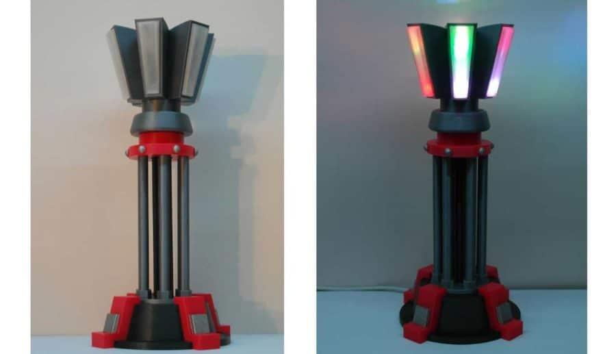 Command & Conquer Prisma-Turm Lampe (Bildquelle: chrisn889/thingiverse)